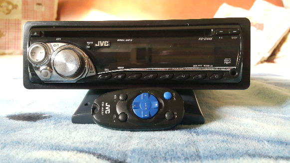 JVC Single DIN In-Dash CD/AM/FM/ Receiver with Detachable Faceplate photo