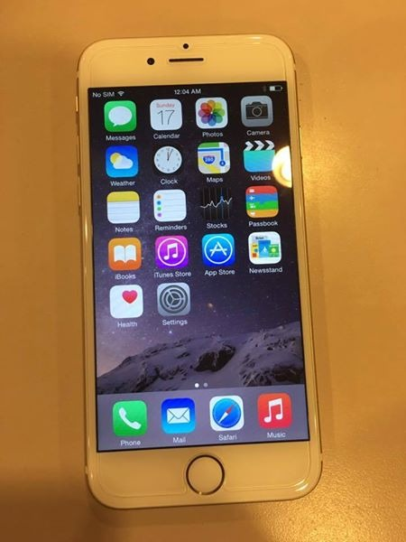 iPhone 6 16GB Globelocked Gold LTE Complete photo