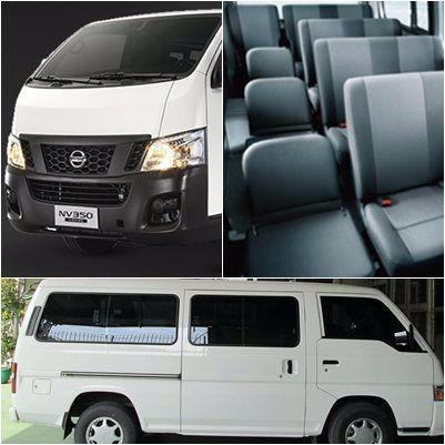 Nissan Urvan for Rent photo
