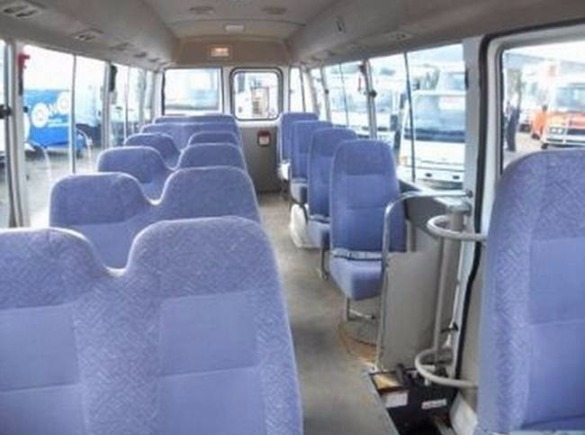 toyota coaster for rent image 3