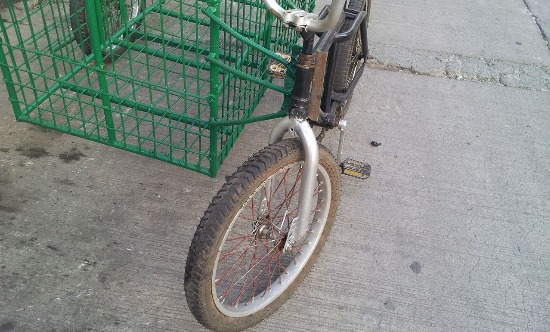 heavy duty delivery sidecar with bike image 3