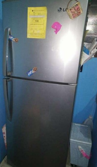 Lg 2doors refrigerator photo