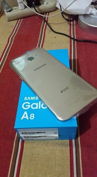 Samsung A8 Gold Complete NTC photo