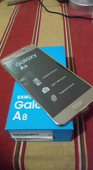 Samsung A8 Gold Complete NTC image 2