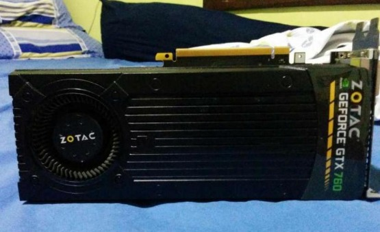 Video card Zotac Gtx760 photo