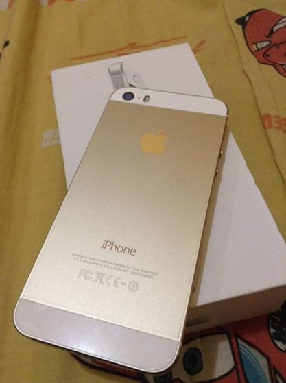iphone 5s 32gb gold image 3