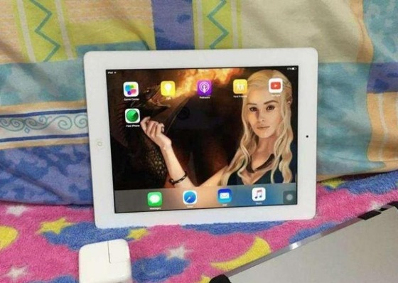 Original Ipad 4 Retina Display 16gb wifi - Silver photo