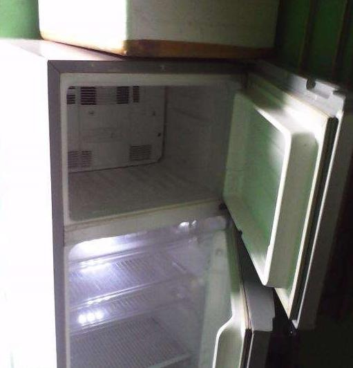 Sharp refrigerator photo