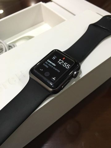 Apple Watch Sport 38mm Black photo