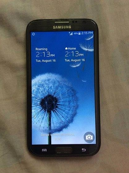 Samsung Galaxy Note 2 N7100 photo