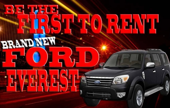RENT A CAR FORD = MANILA & CALABARZON photo