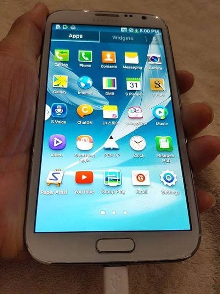 Samsung Galaxy Note 2 32gb Shv-E250S photo