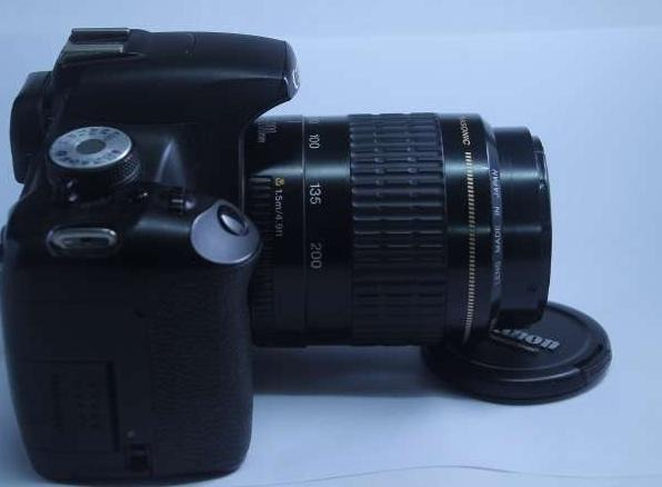 Canon 500d dslr with 80-200mm USM lens image 2