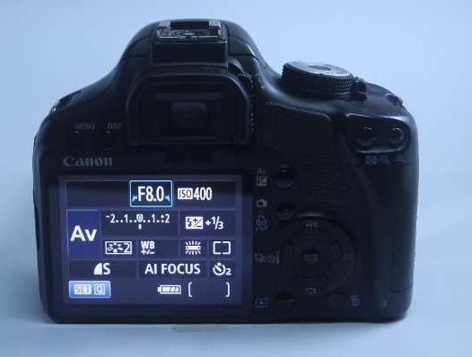 Canon 500d dslr with 80-200mm USM lens image 3