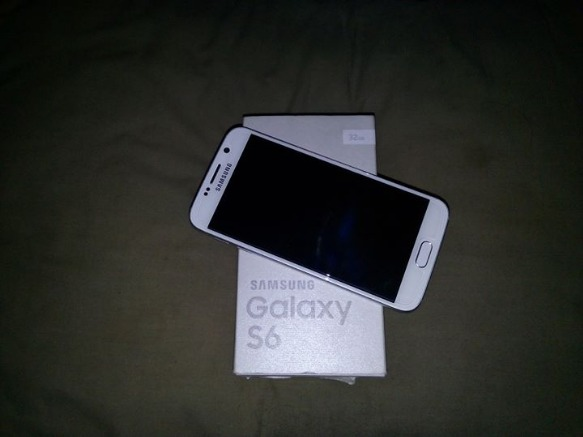 Samsung Galaxy S6 Flat Duos 32GB Pearl White photo