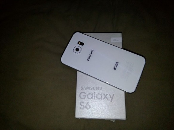 Samsung Galaxy S6 Flat Duos 32GB Pearl White image 2
