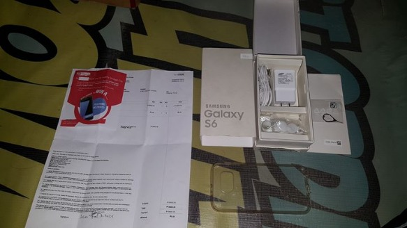 Samsung Galaxy S6 Flat Duos 32GB Pearl White image 3