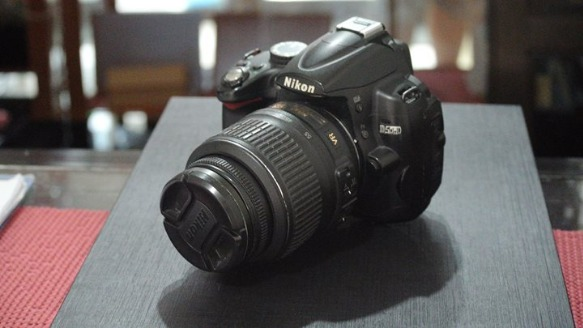 Nikon DSLR D5000 w/ 18-55mm Lens photo