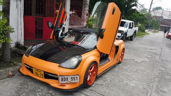Toyota spyder mrs photo