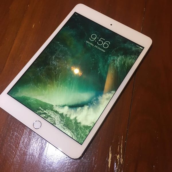 iPad Mini 3 64Gb White Wifi photo