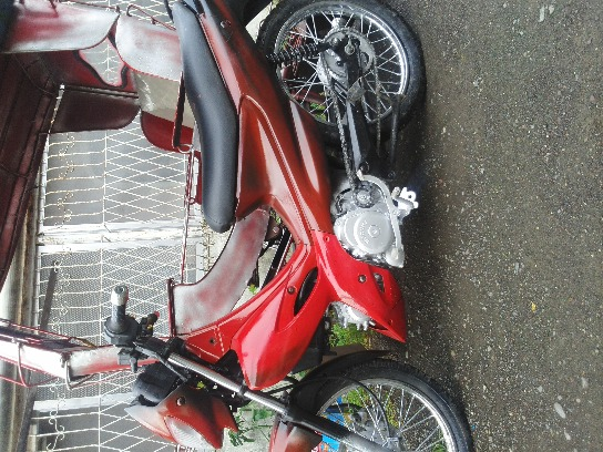 motorcycle with side car photo