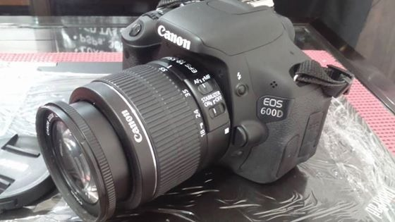 CANON DSLR EOS 600D w/ 18-55mm Lens photo