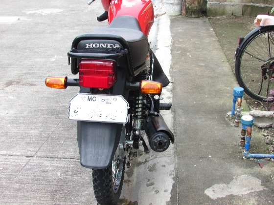 HONDA CB125CL photo