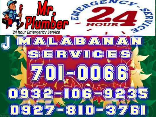 J MALABANAN SIPHONING MANUAL CLEANING SERVICES 7010066 /09321069235 photo