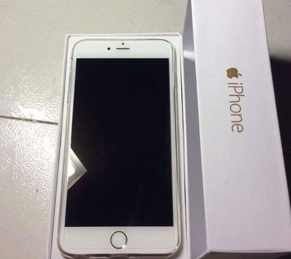 iPhone 6 Plus 16GB Factory Unlocked White / Silver photo