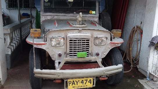 1984 Francisco Isuzu 7 seater Passenger Jeepney photo