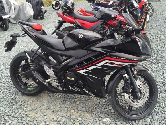 Yamaha R15 2013-2014 registered photo