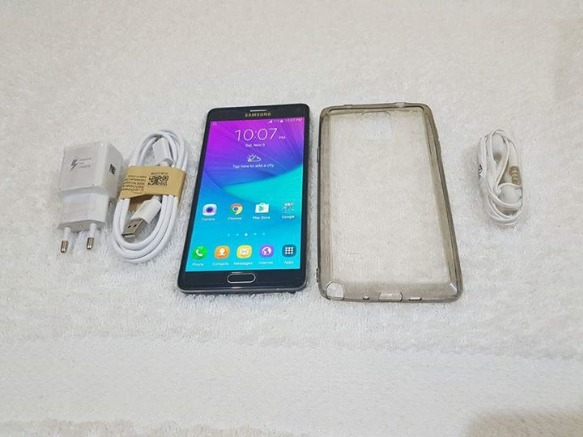 Samsung Galaxy Note 4 32gb Black LTE not Local SM-N910L photo