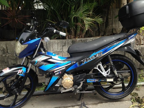 Suzuki raider J 115 FI (Fuel Injection) - 2014 photo