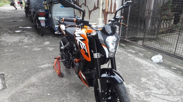 KTM Duke 200 Registered photo