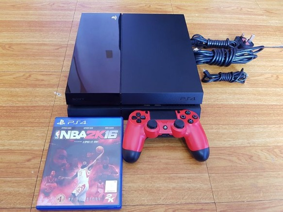PS4 1TB red ds4 with NBA 2K16 OPEN TRADE photo