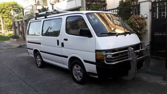 Toyota hiace commuter van local photo