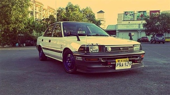 Toyota small body  89model skd photo