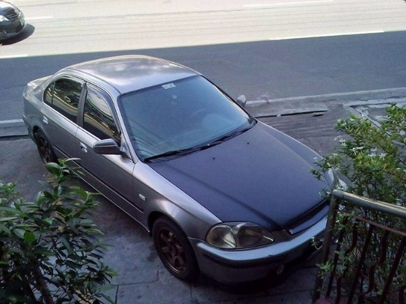 Honda civic VTEC 97 model photo