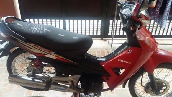 Honda wave 100 model 2010 photo