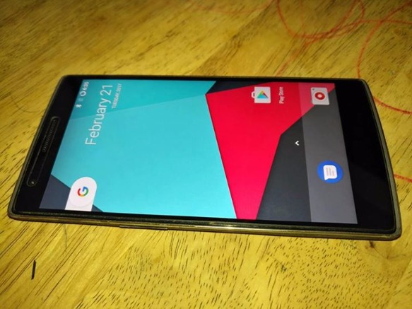 oneplus one 3gb ram 64gb rom 4G LTE openline 7.1.1 nougat photo