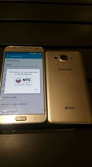samsung j7 2015 local ntc gold photo