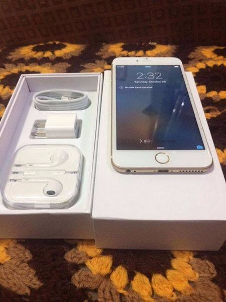 Apple iPhone 6 16GB Gold Openline Complete photo