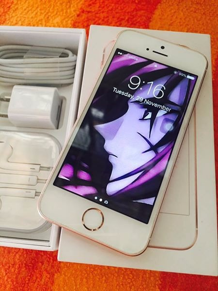 Sell iPhone SE 64gb (Globe tm) RoseGold photo