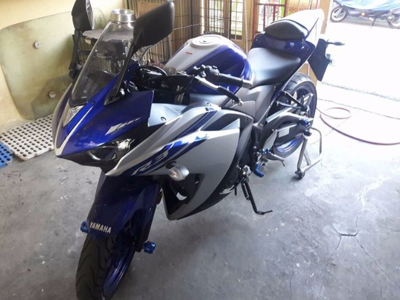 Yamaha R3 model 2016 photo