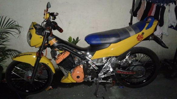 Suzuki raider 125 limited edition photo
