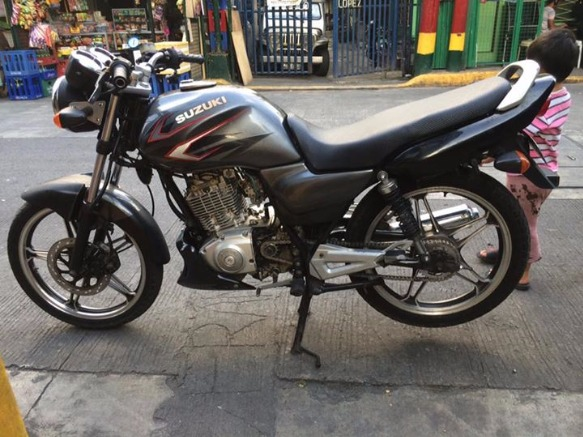 suzuki thunder125 photo