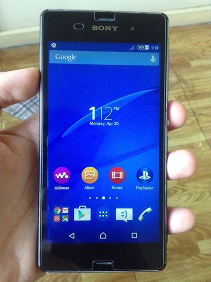 Sony Xperia Z3 D6653 LTE 3GB Ram Black Back Camera Issue photo