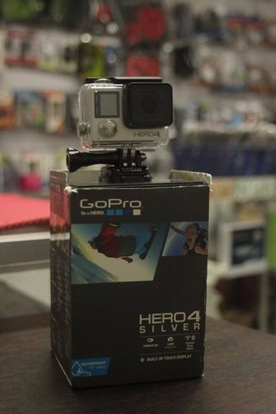 Go pro hero 4 silver edition photo