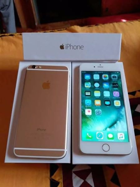 iphone 6plus 64gb gold photo