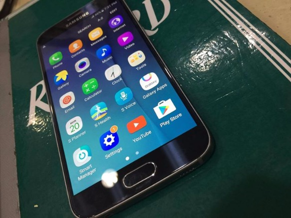 Samsung s6 duos 32gb blue NTC photo